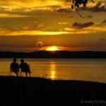 Sunset in Huskvarna
