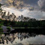 Abborresjön in Risveden